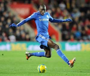 Demba Ba nets vs Southampton on Chelsea debut