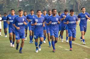 I-League: Dempo S.C. thrash East Bengal 3-1 to register 1st win
