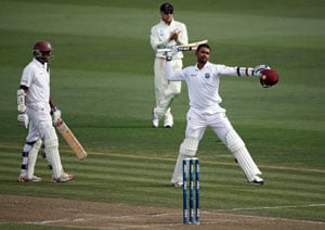 3rd Test: Ton-up Denesh Ramdin, Shivnarine Chanderpaul rescue West Indies vs New Zealand