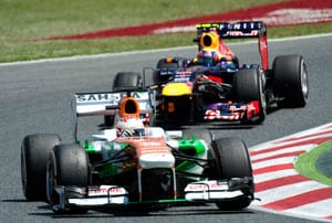 Spanish Grand Prix: Paul Di Resta earns six points for Force India