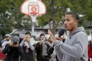 Derrick Rose says lockout unnecessary