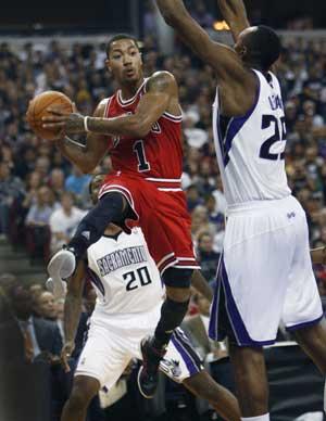 Bulls use fast start for 108-98 win over Kings