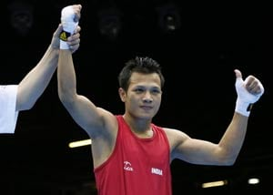 London Olympics Boxing: Power-packed Devendro storms into pre-quarters