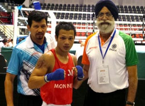 Devendro, Shiva in finals of Asian Boxing championships; Manoj Kumar settles for bronze