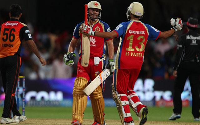 IPL 7 RCB vs SRH, Highlights: AB de Villiers' Unbeaten 89 Delivers Sensational Victory for Royal Challengers Bangalore