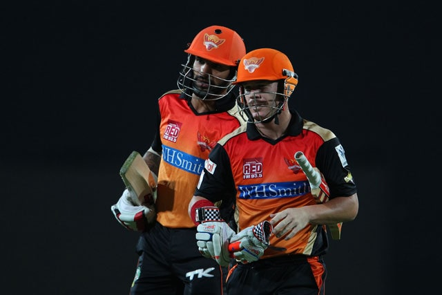 IPL 7: David Warner Powers Sunrisers Hyderabad to Six-Wicket Win Over Chennai Super Kings