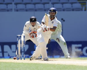 Shikhar Dhawan's valiant century in vain as Kiwis win 1st Test by 40 runs