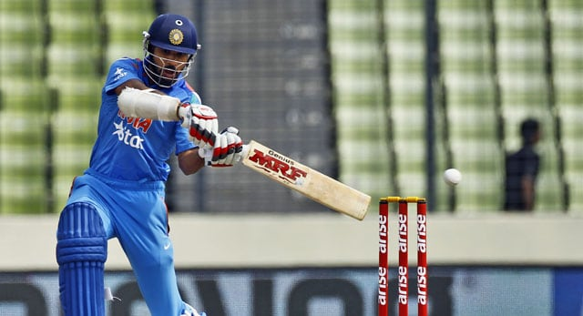 Asia Cup 2014: Shikhar Dhawan finishes as India's best batsman but far from being Asia's best