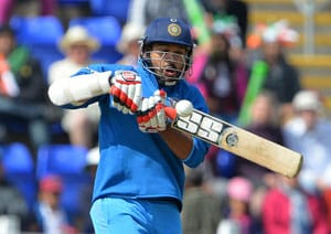 ICC Champions Trophy: India beat South Africa by 26 runs after Shikhar Dhawan's maiden century
