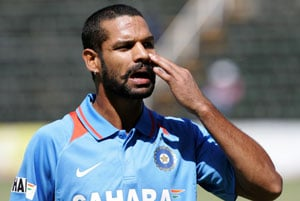 Dhawan the joyous delivers runs with no worries