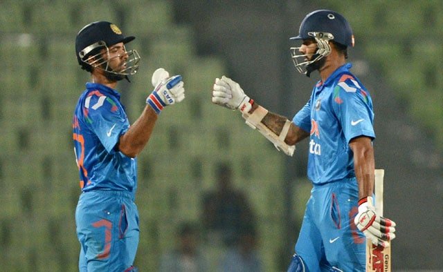 Asia Cup, highlights: Rahane, Dhawan guide India to comprehensive 8-wicket win over Afghanistan