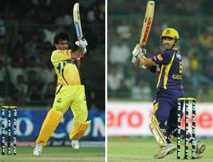 IPL final: How Dhoni and Gambhir have shaped their sides