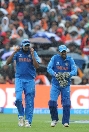 ICC Champions Trophy: Rain threatens India-Sri Lanka semifinal clash