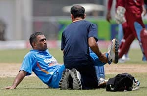 West Indies tri-series 2013 Injured Dhoni ruled out of tri-series