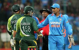 MS Dhoni feels a better total would have challenged Pakistan even more