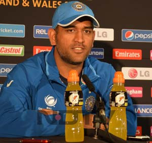 ICC Champions Trophy: Won't give Pakistan a consolation prize, says MS Dhoni