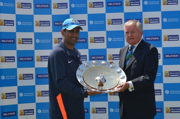 Can't pose like Nadal, this Shield belongs to the team, says MS Dhoni