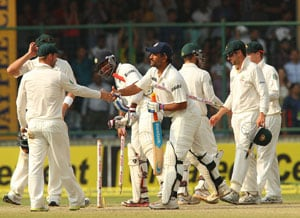 India complete clean sweep over Australia with historic win in Delhi Test