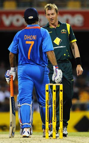 Brett Lee had no business obstructing Sachin: Dhoni