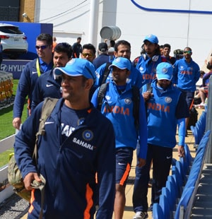 Team India arrives in New Zealand for ODI series