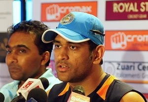 Dhoni hints at Irfan's inclusion in first ODI