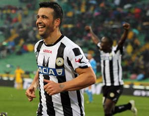 Prolific Antonio Di Natale extends Udinese stay