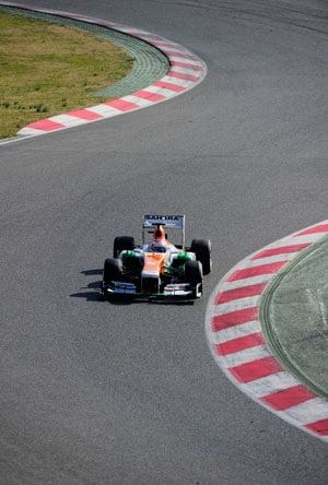 Young Driver Test: Good day 1 of testing for Force India