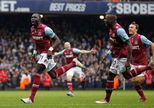 More misery for Rafael Benitez as West Ham United stun Chelsea