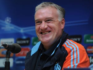 France coach Didier Deschamps cannot hide FIFA 2014 World Cup draw delight