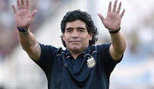 Maradona to receive invite for Kolkata friendly