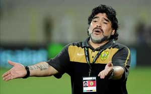 Aim is to keep Maradona happy: Al Wasl chairman