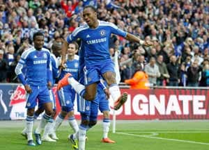 Didier Drogba relishes Chelsea's FA Cup triumph