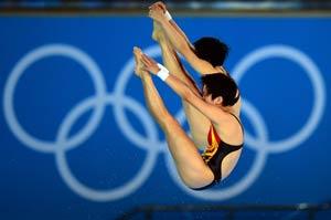 London Olympics Diving: China grabs third gold
