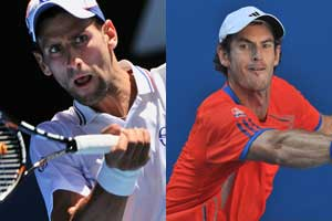 Novak Djokovic, Andy Murray drawn to meet in Australian final
