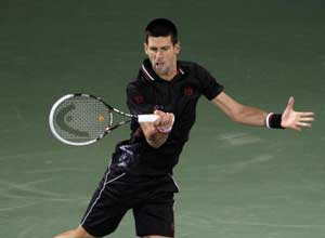 Djokovic wins in first match since Australian Open
