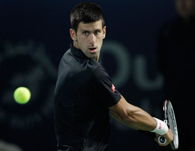 Novak Djokovic eases into third round of Miami Masters