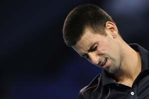 Djokovic is no superman after all