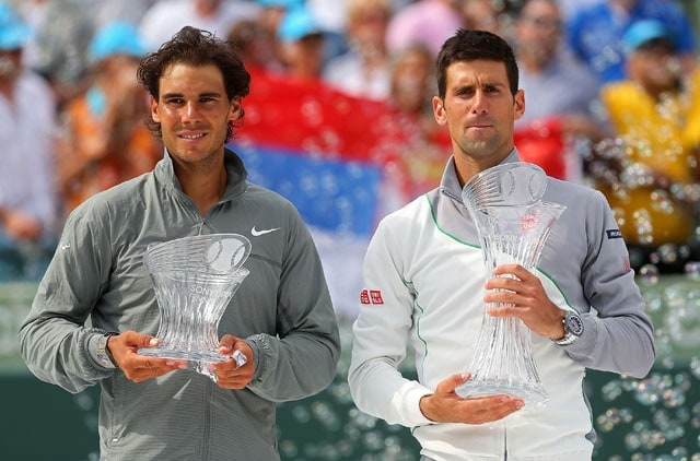 Novak Djokovic routs Rafel Nadal to win fourth Miami Masters title