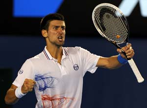 Novak Djokovic is ready and on track to defend Australia Open title
