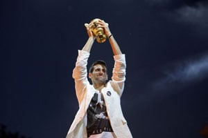 King Djokovic reigns supreme in 2011