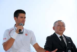 Novak Djokovic signs for Japan's Uniqlo