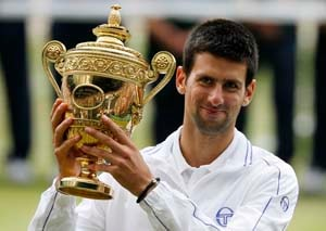 Novak Djokovic is the new World No. 1