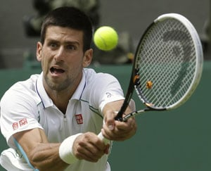 Djokovic savours opening day honours on Centre Court at Wimbledon