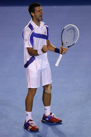 Djokovic makes fine start in Dubai