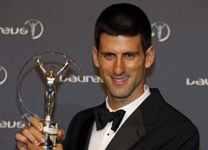 Djokovic, Barcelona win at 2012 Laureus awards