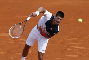 Novak Djokovic eases into 3rd round of Monte Carlo Masters
