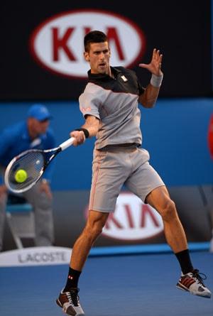 Australian Open: Novak Djokovic off to winning start under Boris Becker
