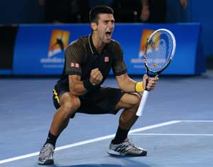 Novak Djokovic raises tennis to new heights