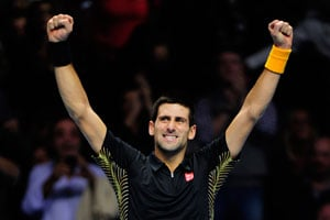 ATP Tour Finals: Novak Djokovic subdues Tomas Berdych to reach last four