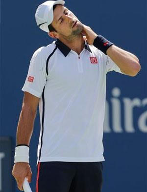 Defending champion Novak Djokovic gets another easy win